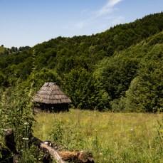 In den tiefen Wäldern und auf den Bergen ist das Leben einfach -