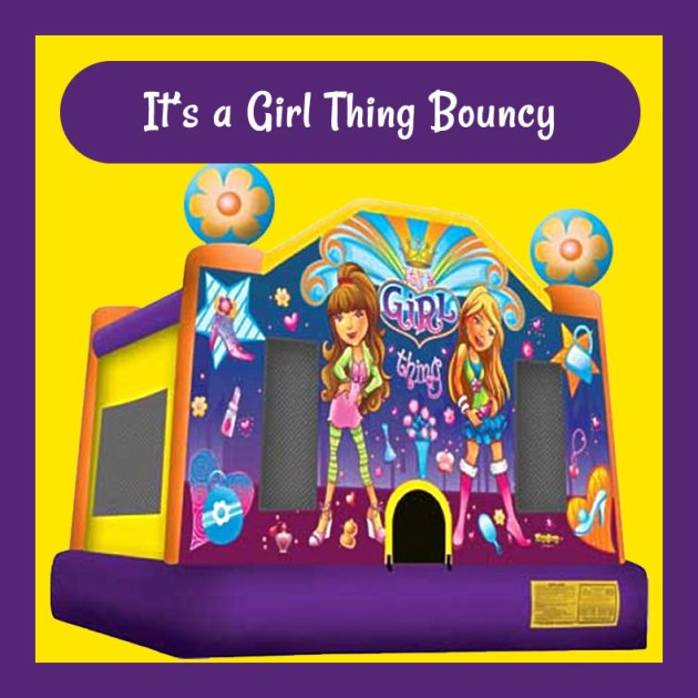 It's a Girl Thing Bouncy