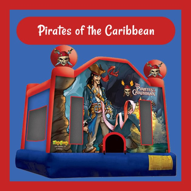 Pirates of the Caribbean Bouncy