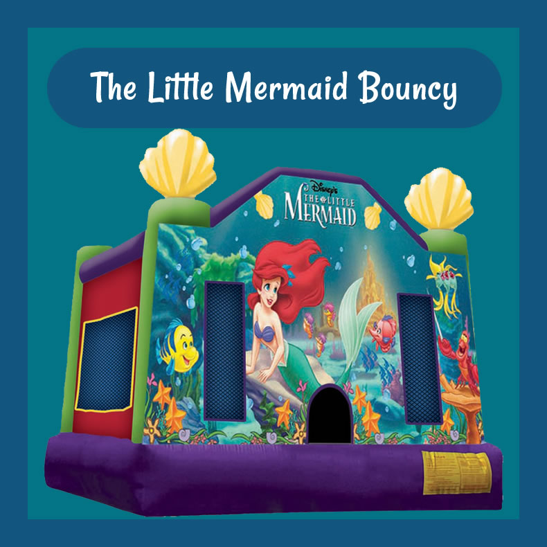 The Little Mermaid Bouncy
