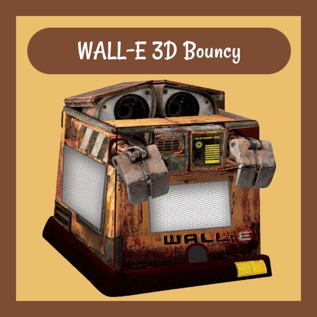 WALL-E 3D Bouncy