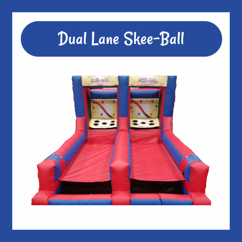 Dual Lane Skee-Ball