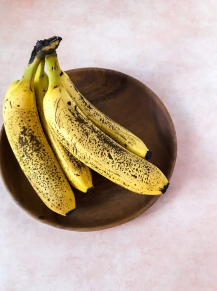 When to freeze bananas