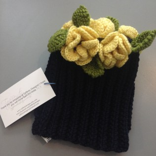 My Tafferty Designs Tea Cosy straight from the bag - ©Chloé Chateau