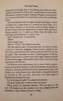 F. Scott Fitzgerald, The Great Gatsby, Chapter V - 3