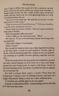F. Scott Fitzgerald, The Great Gatsby, Chapter V - 5
