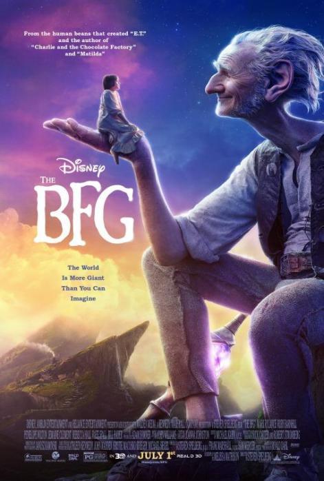 Le Bon Gros Géant par Steven Spielberg et Disney