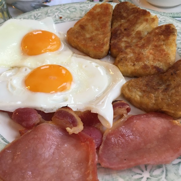 Breakfast at Westlodge Bed and Breakfast in Port Erin, Isle of Man