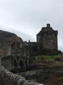 Eilean Donan Castle bridge, Scotland