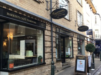 Harriet's Tearooms in Cambridge