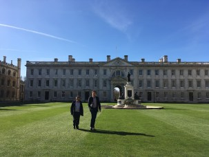 Inside King's College - Teachers not keeping off the grass