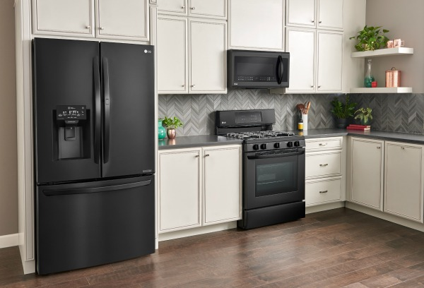Lg Matte Black Stainless Steel Kitchen Appliances Exclusively At