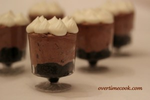Mini Double Chocolate Trifles…and Exciting News!