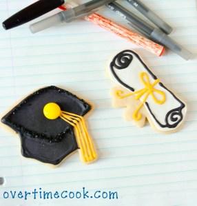Graduation Cookies {How To}