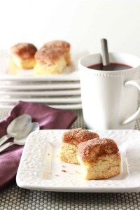 Cinnamon Sugar Scones and a review and giveaway of Mini Treats and Handheld Sweets
