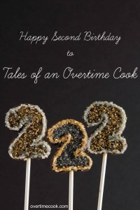 Chocolate Sugar Cookies and a Second Blogiversary! {Giveaway!}