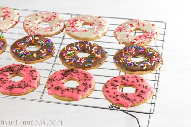brown sugar donut cookies