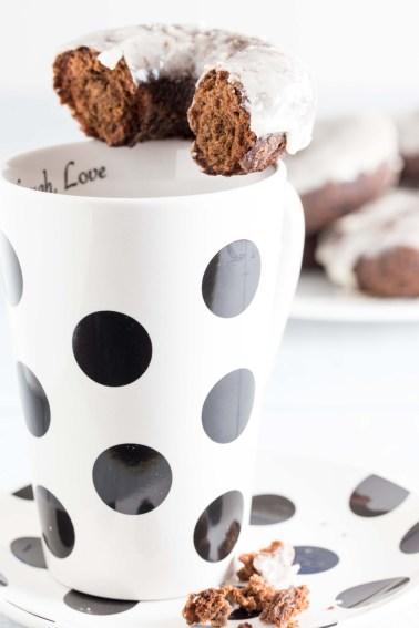 chocolate sour cream donut 2