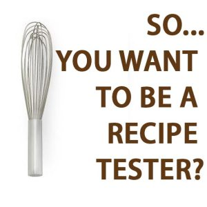 Call for Recipe Testers