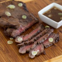 Thai Marinated London Broil
