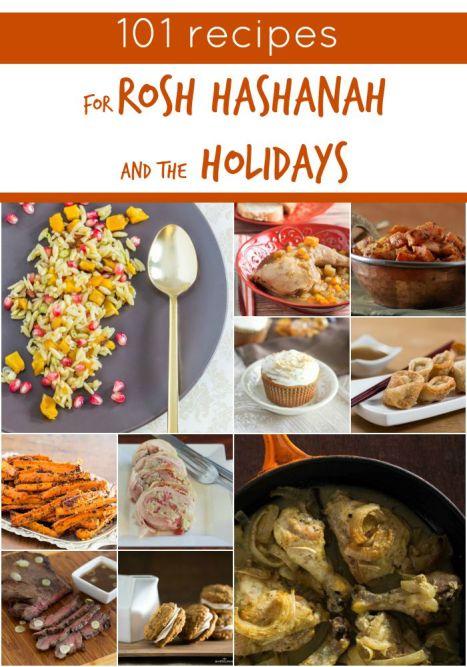 101 recipes for rosh hashanah