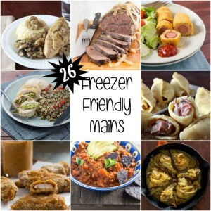 26 Freezer Friendly Mains for Your Holiday Meals