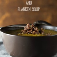 Creamy Vegetable and Flanken Soup