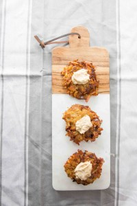 Caramelized Onion Latkes