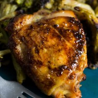 Garlic Dijon Roasted Chicken