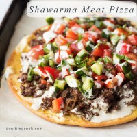 Shawarma Meat Pizza + 20 Quick and Easy Dinner Recipes