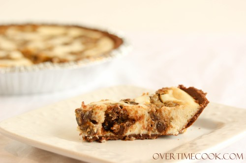 Chocolate Chip Cookie Dough Cheesecake : Cheesecake, cookie dough ...