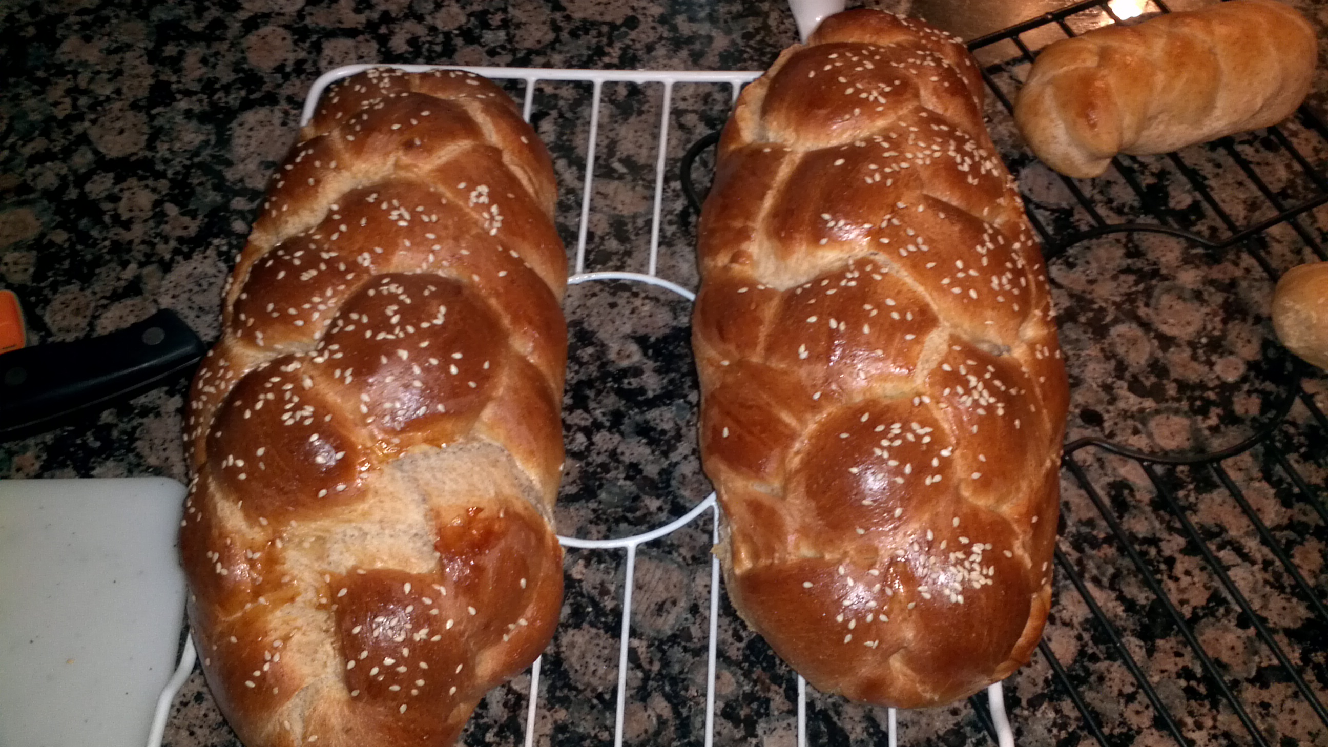 Whole Wheat Challah: Guest Post by Estee Lavitt - Overtime Cook