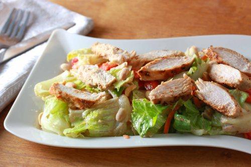 Asian Peanut Chicken Salad 3