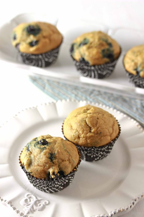 healthy blueberry muffins 2