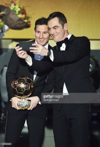 during the FIFA Ballon d'Or Gala 2015 at the Kongresshaus on January 11, 2016 in Zurich, Switzerland.
