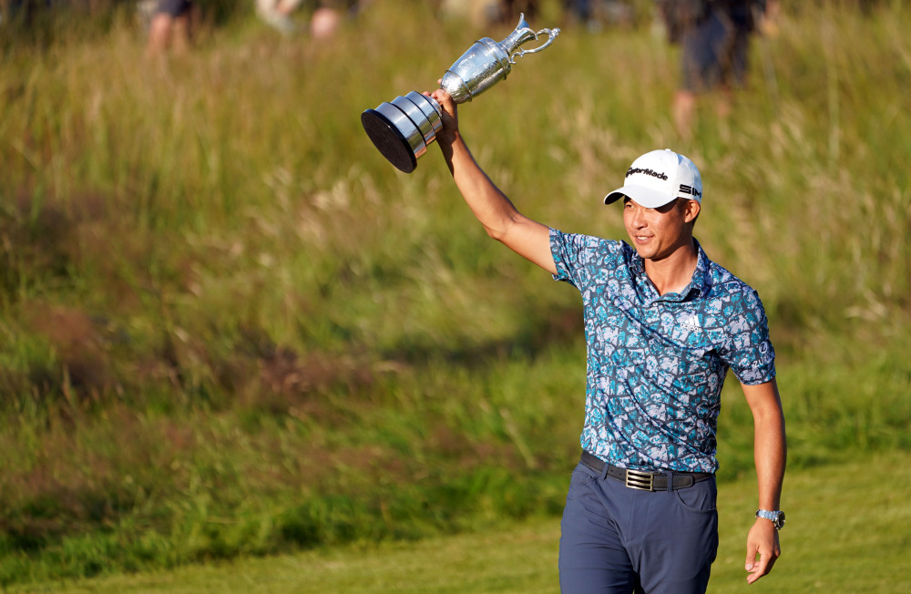 Collin Morikawa is the Champion Golfer of the year