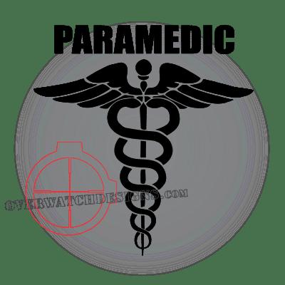 Medic Symbol Decal Emt Paramedic Police Combat Fire Ems