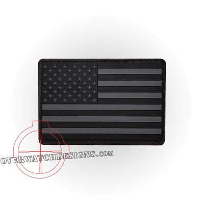 Subdued American Flag Patch