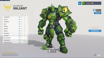 Reinhardt - Los Angeles Valiant