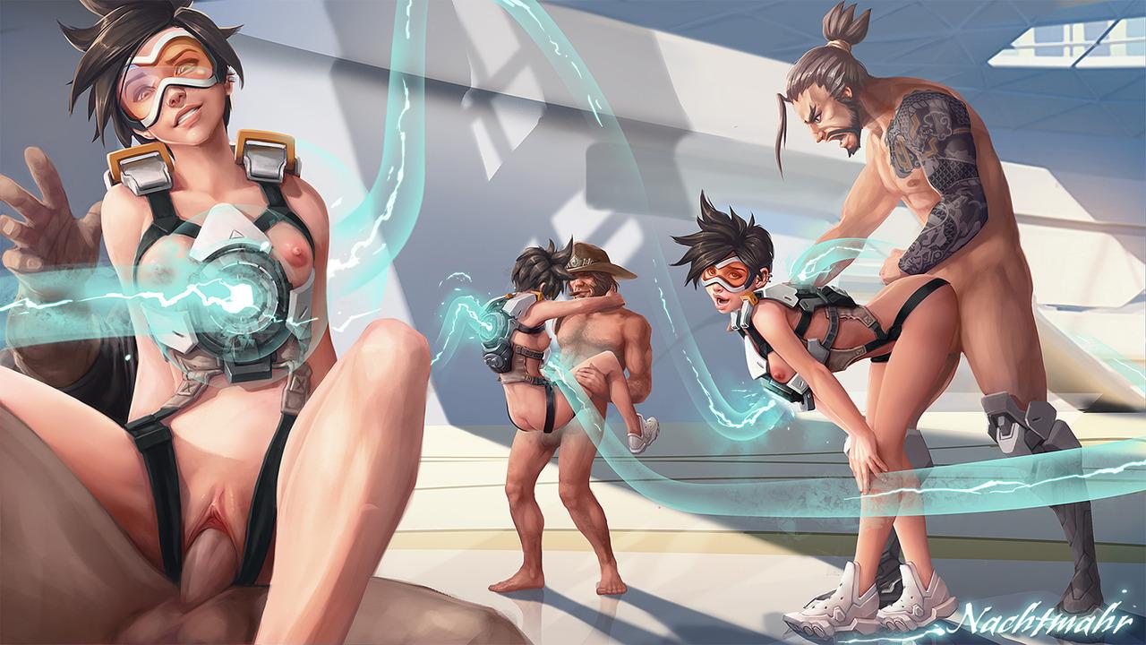 Naked overwatch girls Overwatch