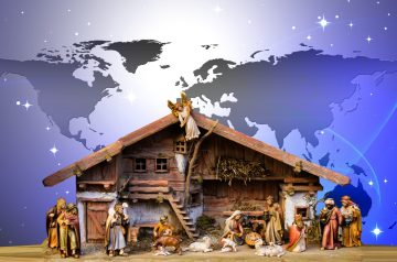 christmas, world, nativity scene