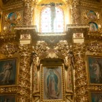 Travel Photography Friday – Wall in Santo Domingo Cathedral, Oaxaca