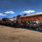 Photo Friday: HDR – Train Cemetery in Uyuni, Bolivia