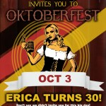 You're Invited to My Oktoberfest Birthday!