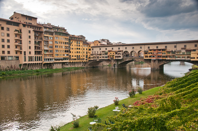 Florence, Italy - The bridge of gold
