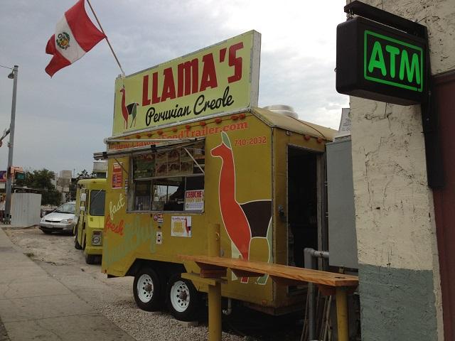 Llamas Peruvian Creole Food Truck