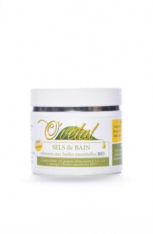 Sels de bain relaxants aux huiles essentielles Bio