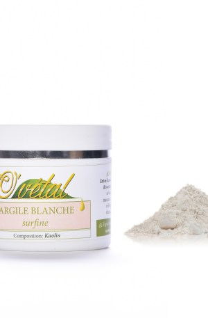 Argile Blanche 100g ou 250g