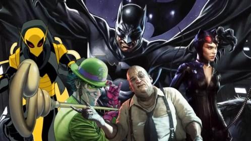 """Site revela possíveis detalhes dos vilões de """"The Batman ..."""