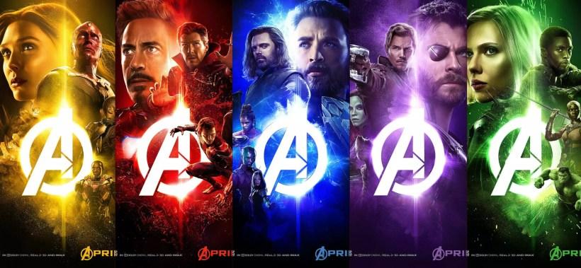 📷 Cartazes de Vingadores: Guerra Infinita | Divulgação